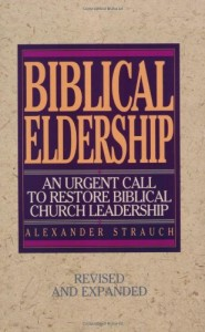 BIblical Eldership book image