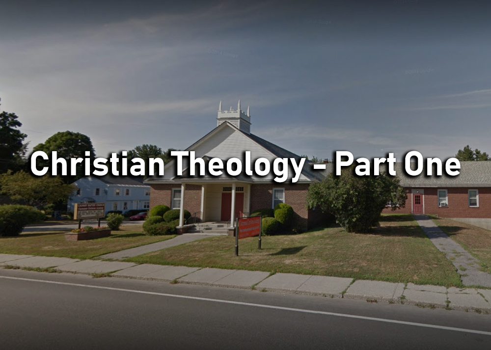 Christian Theology - Part One Image