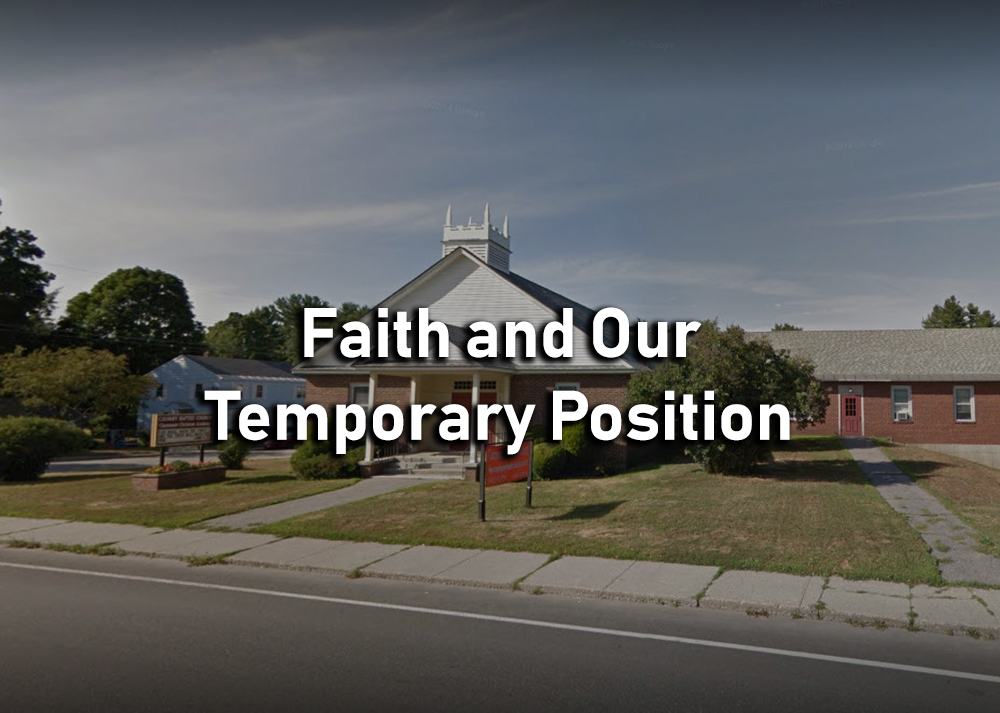 Faith and Our Temporary Position - James 1:9-11 Image