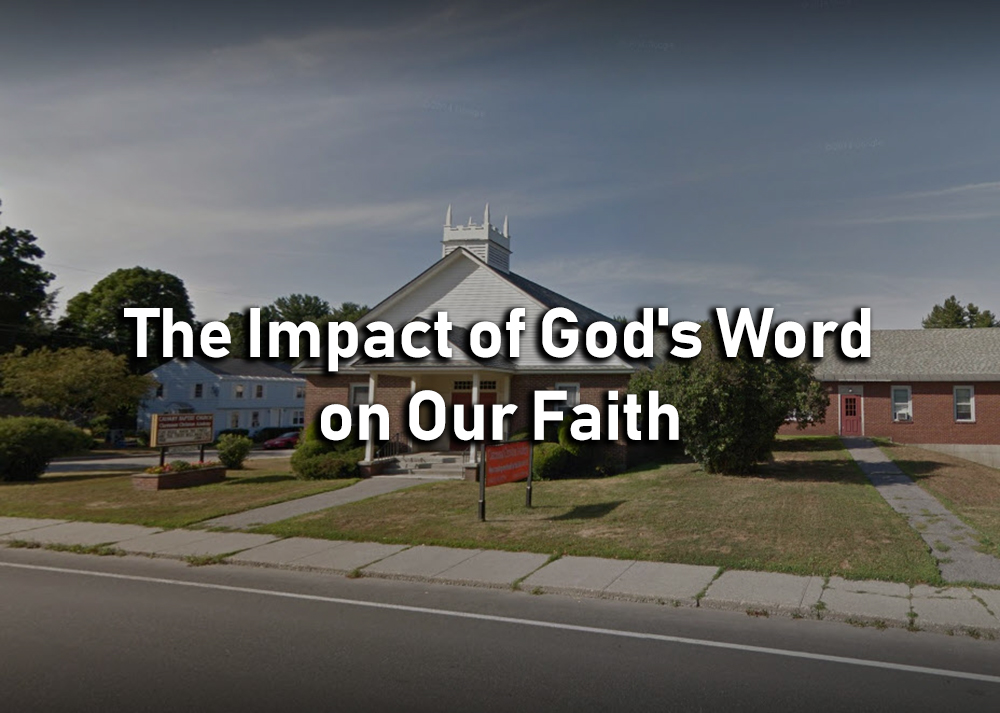 The Impact of God\'s Word on Our Faith - James 1:22-25 Image