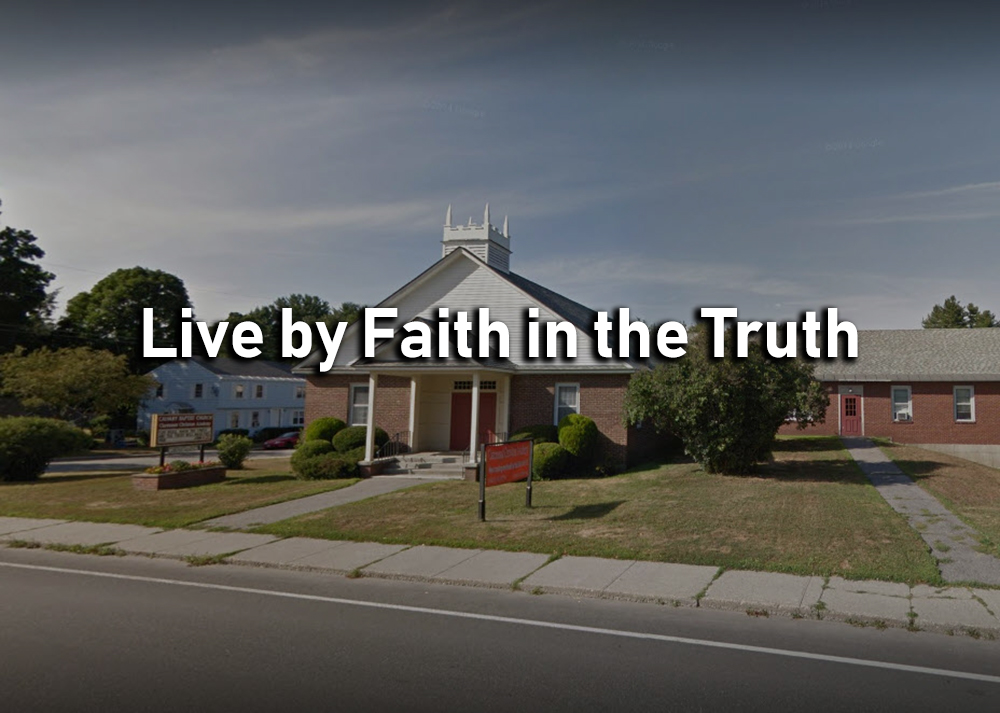 Live by Faith in the Truth - James 1:16-18 Image