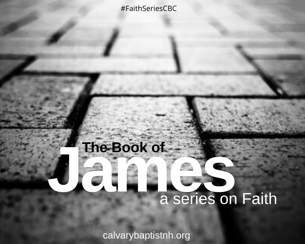 Responding to Life by Faith - James 5:13 Image